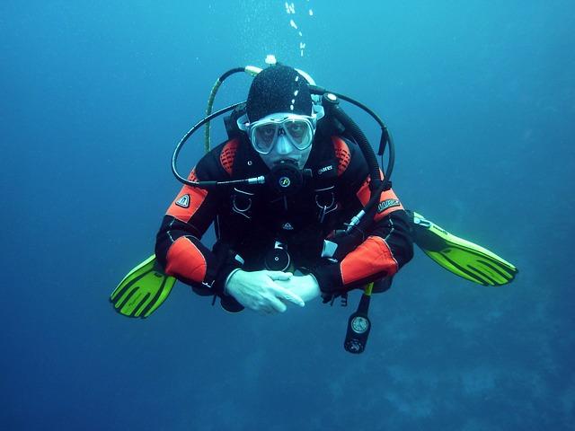 Dykning och snorkling Los Cristianos