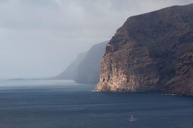 Los Gigantes Teneriffa klippor