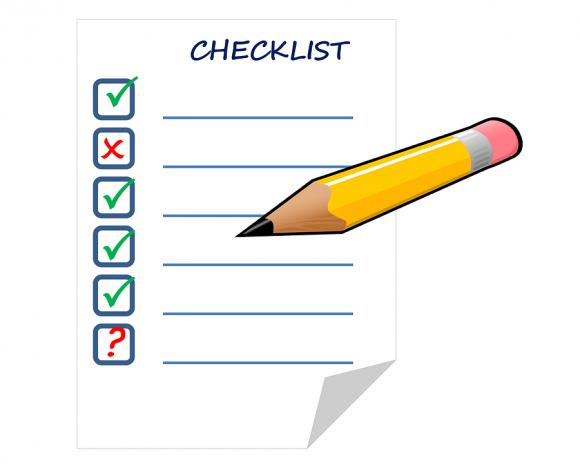 Checklista flygresor till Teneriffa
