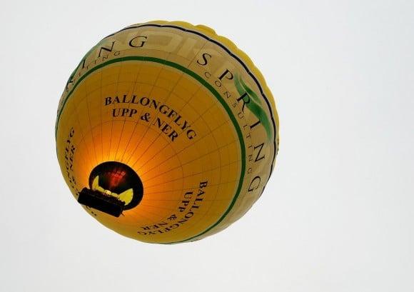 Ballongflyg Teneriffa
