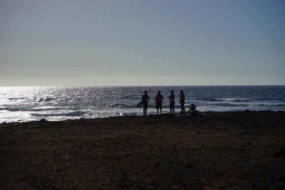 Stranden Las Americas Teneriffa